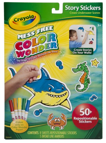 Crayola Color Wonder Story Stickers Markers