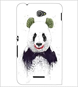 PrintDhaba Big Teddy D-1011 Back Case Cover for SONY XPERIA E4 (Multi-Coloured)