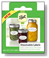Ball? Dissolvable Labels  - (Set Of 60) (by Jarden Home Brands)