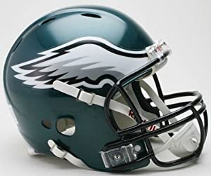 Philadelphia Eagles Revolution Pro Line Helmet by Hall of Fame Memorabilia