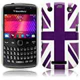 Blackberry Curve 9360 'Cool Britannia Purple' (Designed by Creative Eleven) TPU Gel Skin / Case / Cover Part Of The Qubits Accessories Rangeby Qubits