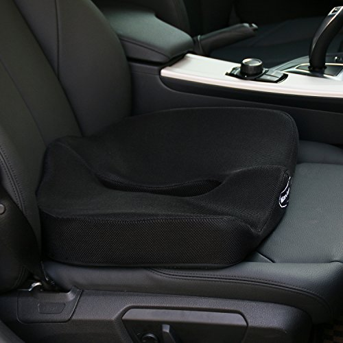 seat cushion for car truck home and office unique design provides all day relief for back. Black Bedroom Furniture Sets. Home Design Ideas