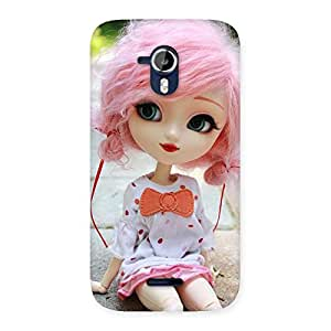 Pink Doll Back Case Cover for Micromax Canvas Magnus A117