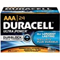 Duracell MX2400BKD09 Ultra Digital Alkaline-Manganese Dioxide Battery Pack, AAA Size, 1.5V (Case of 144)