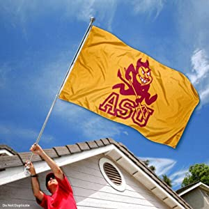 Buy ASU Arizona State Sun Devils University Large College Flag by College Flags and Banners Co.