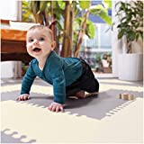Skip Hop Baby Infant and Toddler Geo Playspot Foam Floor Tile Playmat, Grey - White, Chevron