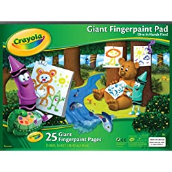 [Best price] Arts & Crafts - Crayola Giant Fingerpaint Paper - toys-games