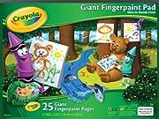 Crayola Giant Fingerpaint Paper, (99-3405)