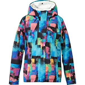 Roxy Jetty 3-in-1 Jacket - Women's Cubist Dream/Anthracite, L