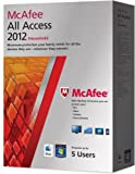 McAfee All Access 2012, Household, 12 month Subscription, Over 15+ devices PC, Mobile and Tablet devices (PC/Mac/Android OS)