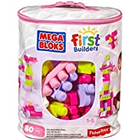 Mega Bloks First Builders Big 80-Piece Building Bag