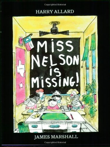 Miss Nelson is Missing! Book & CD (Read Along Book & CD)