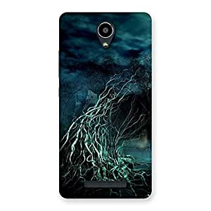 Enticing Tree Horror Back Case Cover for Redmi Note 2
