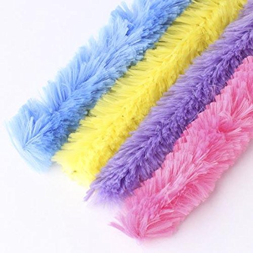 package of 16 extra large pastel colored chenille stems