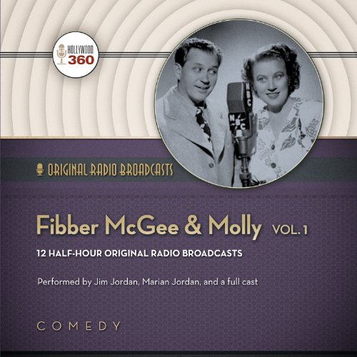 Fibber McGee & Molly, Volume 1 (Hollywood 360 - Classic Radio Collection)(Audio Theater)(LIBRARY EDITION) (Classic Radio Comedy compare prices)