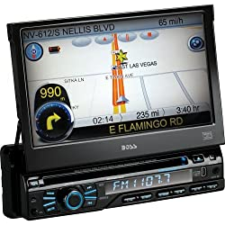 See Boss Audio Systems - Boss Automobile Audio/Video Gps Navigation System - 7