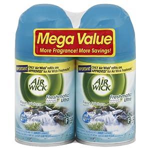 Air Wick Freshmatic Automatic Spray Air Freshener, Fresh Waters, 2 Refills, 6.17 Ounce