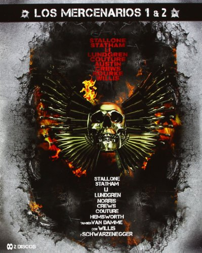 Pack Los Mercenarios 1+2 [Blu-ray]