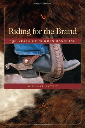 Riding For The Brand: 150 Years Of Cowden Ranching front-401825