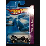 Hot Wheels 2008 121 Team: Jet Rides 1 Of 4 1/4 Jet Threat 4.0 Black And Charcoal Gray