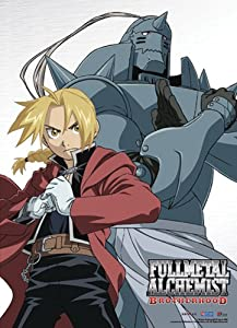 Great Eastern Entertainment FMA Brotherhood Elric Brothers Wall Scroll, 33 by 44-Inch