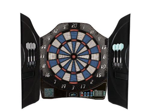 Solex Dartboard Electronic Dart bull Legend 8 Player KabineTT, mehrfarbig, 50 x 46 x 5.5 cm, 43325 Picture