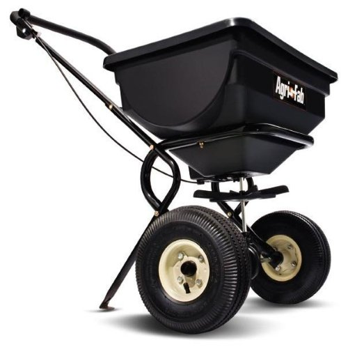 Best Review Of Agri-Fab 85-Pound Push Broadcast Spreader 45-0388