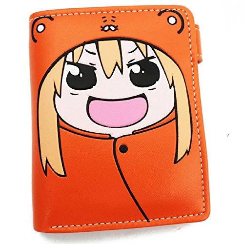 11. Himouto Umaru Chan Cute Japanese Anime Wallet Doma Umaru Bifold Wallet Small Purse