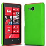 Case In Your Face® Green Hard Back Case Cover For Nokia Lumia 820