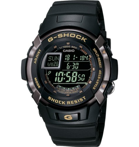 Casio Watch G-Shock Trainer Shock Resistant Multi-Function #G7710-1