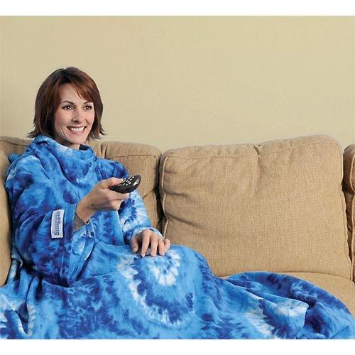 Blue Tie Dye Snuggie