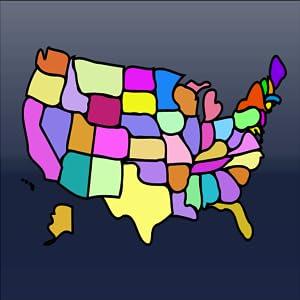 USA States Geography Memory HD from Fun Studyo