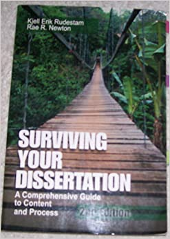 Surviving your dissertation rudestam and newton