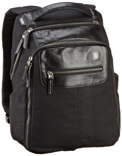 Tumi Luggage T-tech Forge Steel City Slim Backpack, Black, Medium