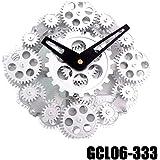 Splendido Orologio da Parete Muro con Ingranaggi a Vista DynaSun GCL08-333