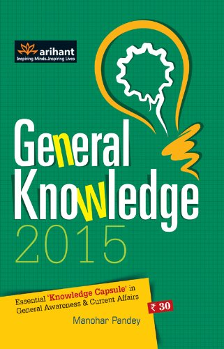 General Knowledge 2015 Essential 'Knowledge Capsule' in General Awareness & Current Affairs Image