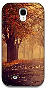 The Racoon Grip autumn path hard plastic printed back case / cover for Samsung Galaxy S4
