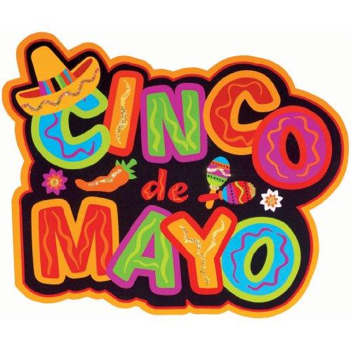 Cinco De Mayo Glitter Cutout
