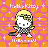 Hello Kitty Hello 2008! Wall Calendar