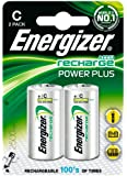 Energizer 2 x C Rechargeable Batteries NiMH