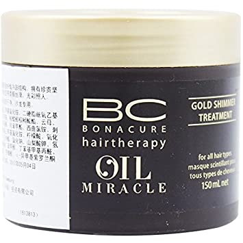 Schwarzkopf Professional BC Bonacure Miracle Oil Gold Shimmer Treatment 150ml