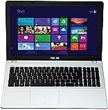 Asus F551MAV-BING-SX1007B 39,6 cm (15,6 Zoll) Notebook (Intel Celeron N2840, 2,58GHz, 4GB RAM, 500GB HDD, Intel HD, DVD, Win 8) weiß