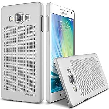 03. Verus [Slim Hard Case] Samsung Galaxy A7 Case [Slim Dot][Satin Silver] Extra Slim