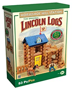 Lincoln Log Horseshoe Hill Station