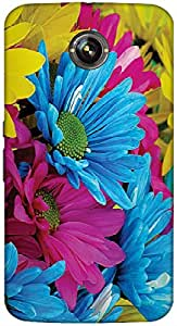 Timpax protective Armor Hard Bumper Back Case Cover. Multicolor printed on 3 Dimensional case with latest & finest graphic design art. Compatible with Google Nexus-6 Design No : TDZ-21562