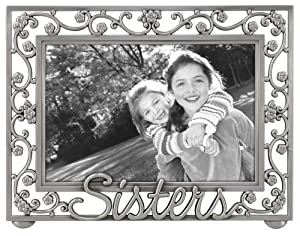 "Amazon.com - Sister"" Scroll Word Picture Frame Metal 4x6 ..."
