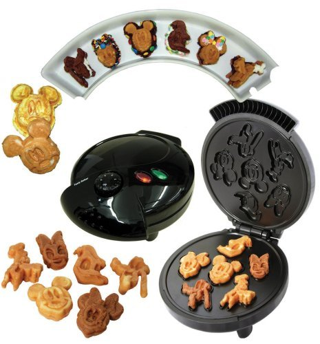 Disney Mickey &Gang 5 in 1 Tasty Baker Waffle Maker,Bakes Pancake,Muffins, breads, cakes, and brownies  , cheap waffle maker