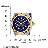 Invicta Men's 7303 Signature II Blue Dial Two-Tone Stainless-Steel Watch