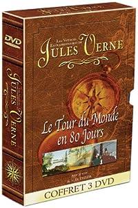 Les Voyages extraordinaires de Jules Verne : L'Ile Mysterieuse / Le Tour du monde en 80 jours / Voyage au centre de la Terre - Coffret 3 DVD