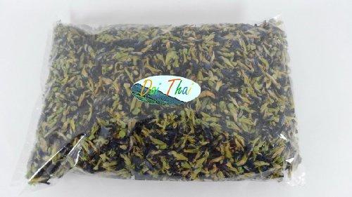Organic Dried Butterfly Pea Flowers Herb Thai ,Blue Tea, Thai Herbals 500 Gram.
